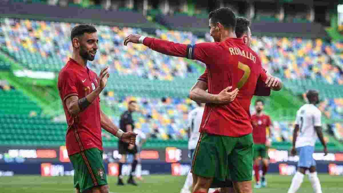 Португалія – Ізраїль – 4:0 – відео голів та огляд матчу