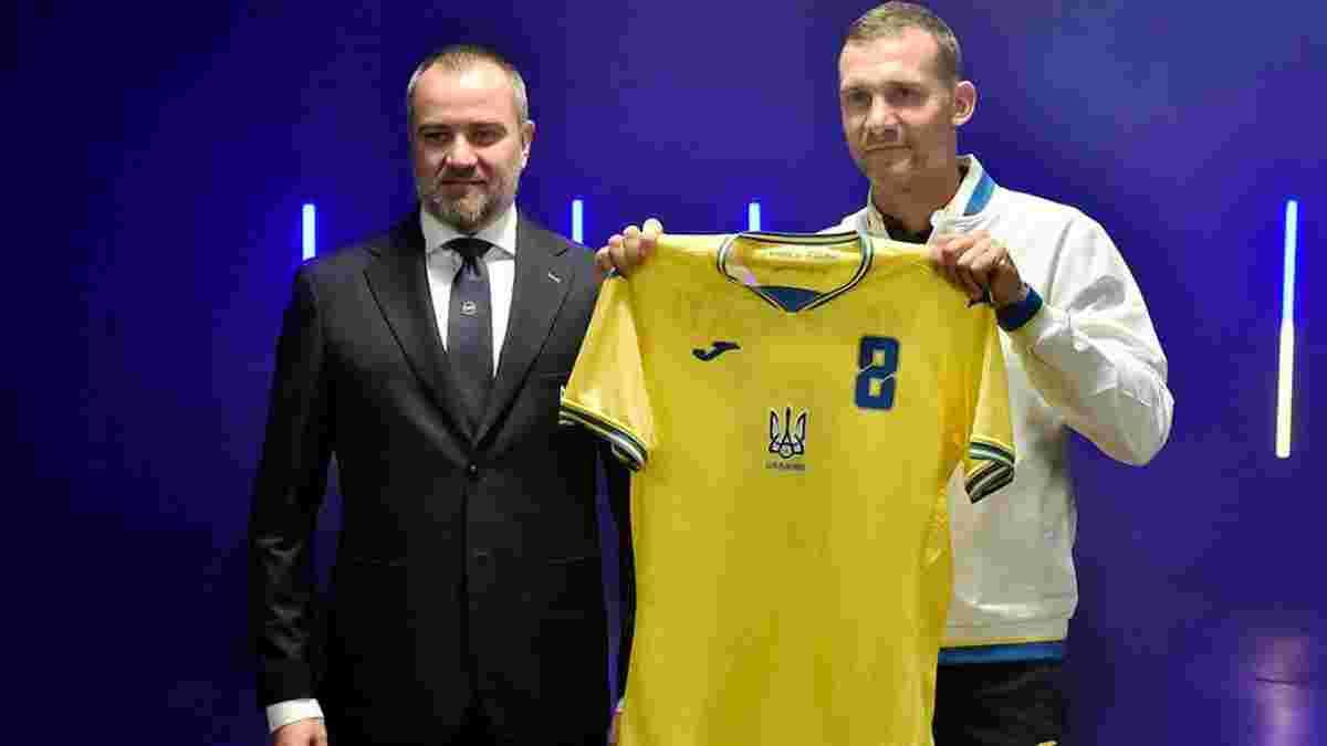 Павелко отреагировал на решение УЕФА относительно формы сборной Украины