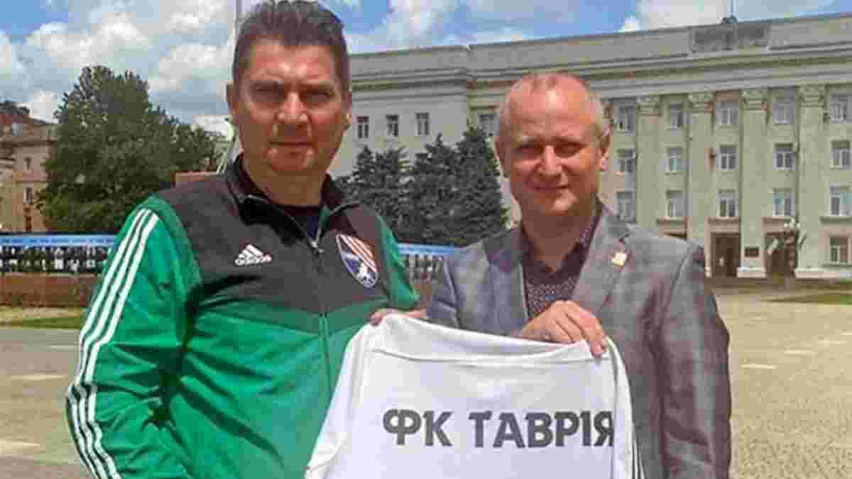 Пучков офіційно повернувся в Таврію – раніше він вигравав з клубом Кубок України