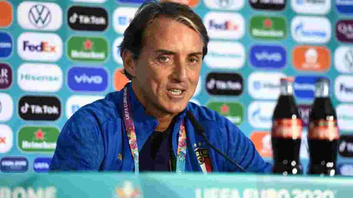 Туреччина – Італія: прес-конференція Роберто Манчіні перед матчем-відкриттям Євро-2020