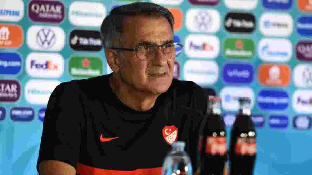 Туреччина – Італія: Гюнеш виділив перевагу Манчіні у стартовому матчі Євро-2020