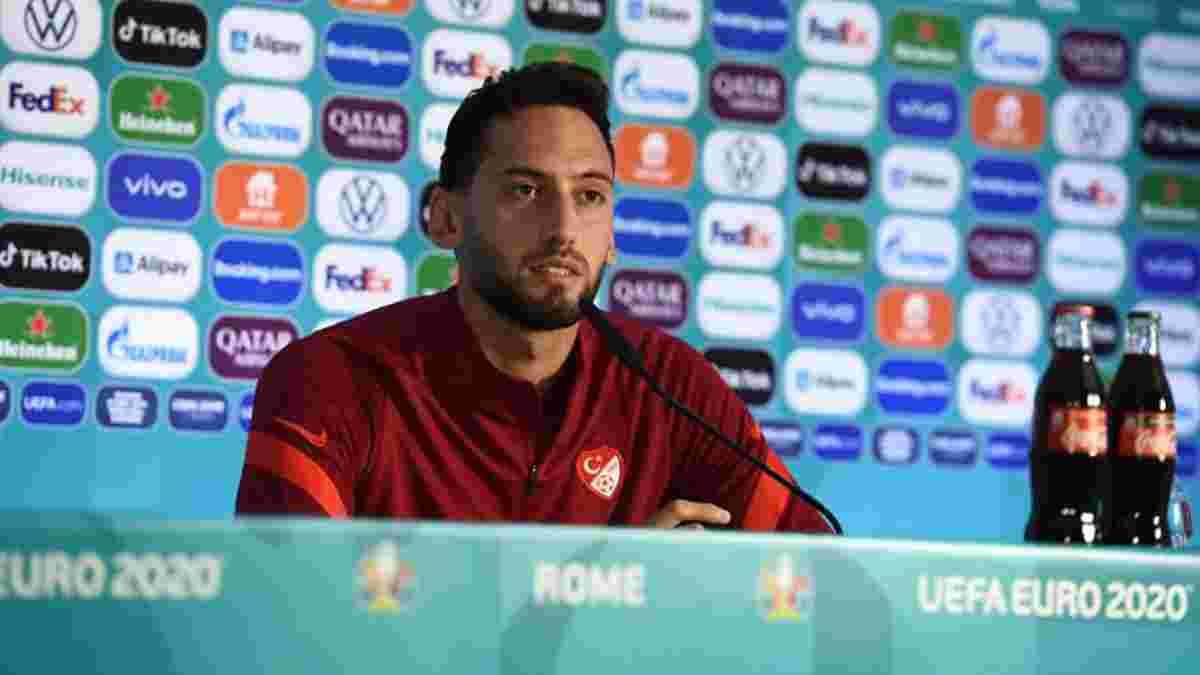 Чалханоглу: Матч проти Італії стане особливим для мене