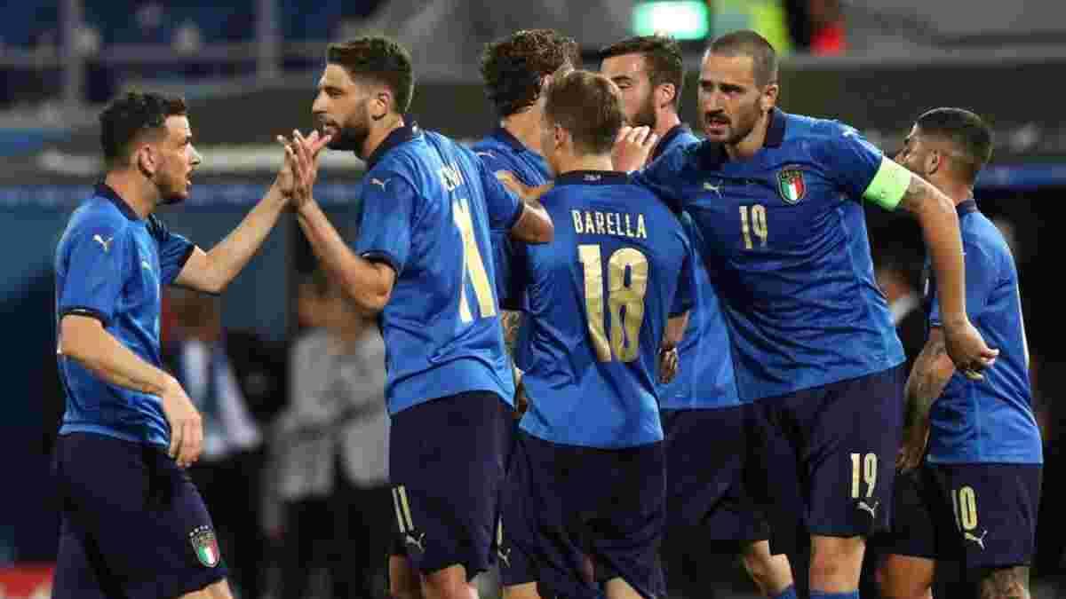 Италия – четырехкратный чемпион мира, который откроет Евро-2020 (видео)