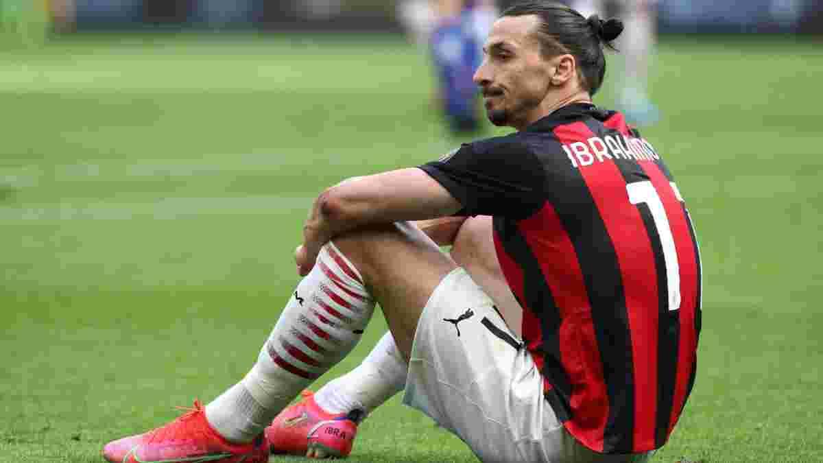 Ибрагимович заставляет Милан паниковать – 39-летний форвард может лечь под нож
