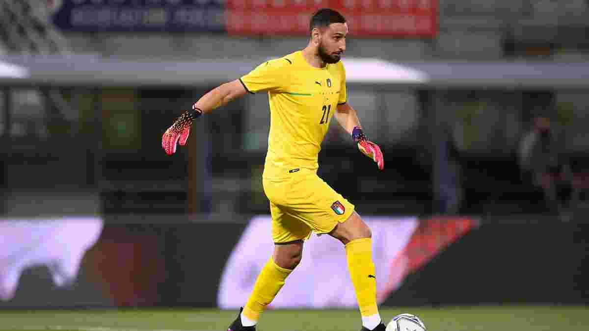Доннарумма встановив віковий рекорд у першому матчі Євро-2020