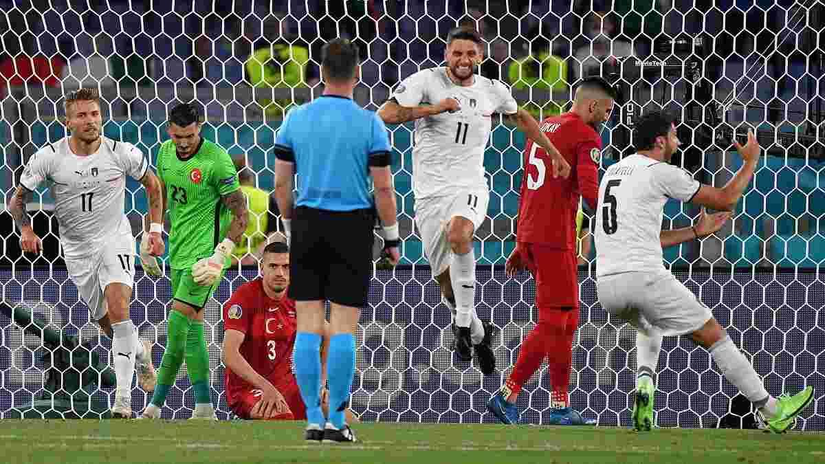 Туреччина – Італія: у стартовому матчі чемпіонату Європи встановили одразу два цікаві досягнення