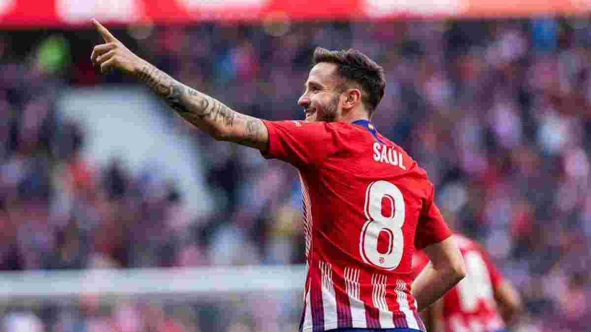 Бавария поставила точку в трансфере Сауля – на хавбека Атлетико остались два звездных претендента