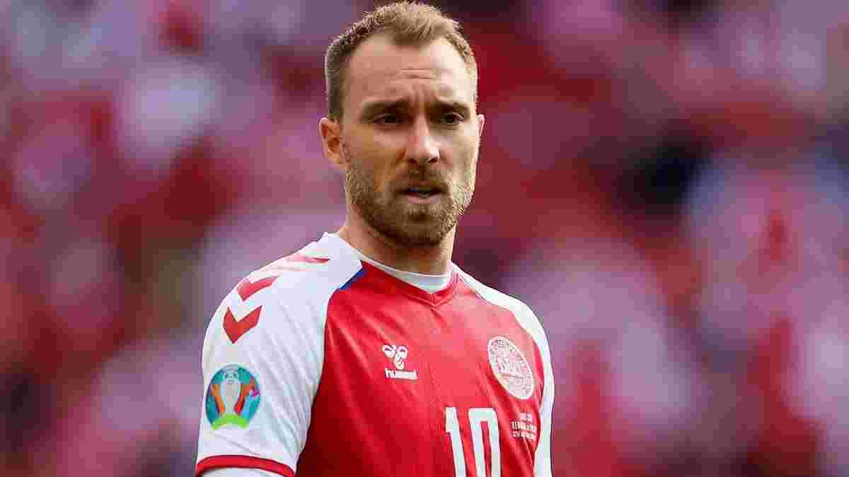 Эриксен признан игроком матча Дания – Финляндия