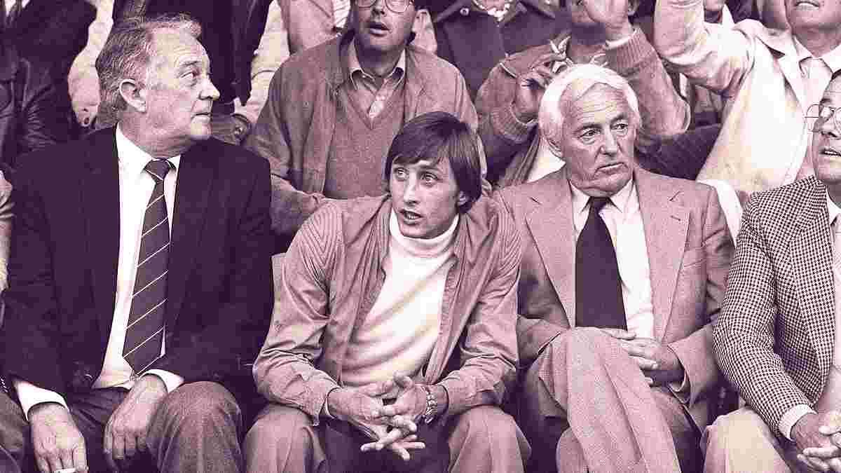 Кройф став мільйонером завдяки тестю: перший топ-агент в історії футболу шантажував Аякс і послав Реал під три чорти