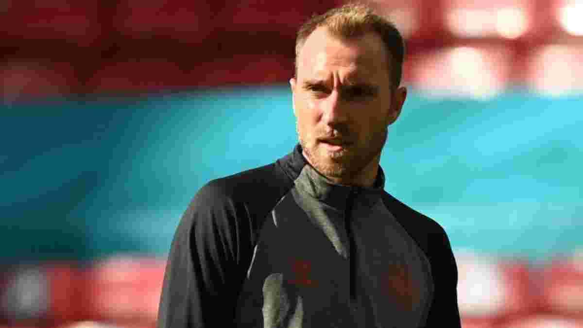Данія озвучила стан Еріксена після моторошного падіння – гравець вже поспілкувався з партнерами по команді