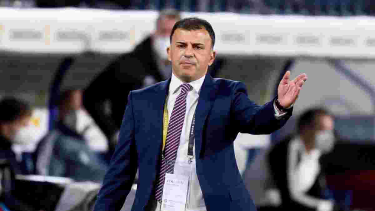 Тренер Північної Македонії: Сказав гравцям не опускати голови – починаємо готуватися до України