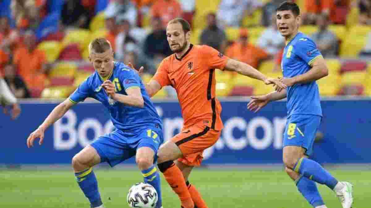 Нидерланды – Украина: Блинд признался, что боялся выходить на матч Евро