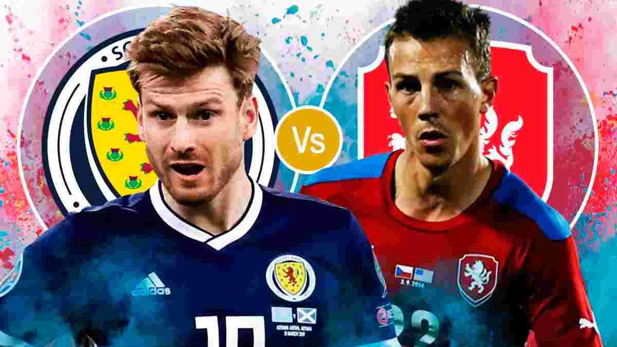 Шотландія – Чехія: онлайн-трансляція матчу Євро-2020