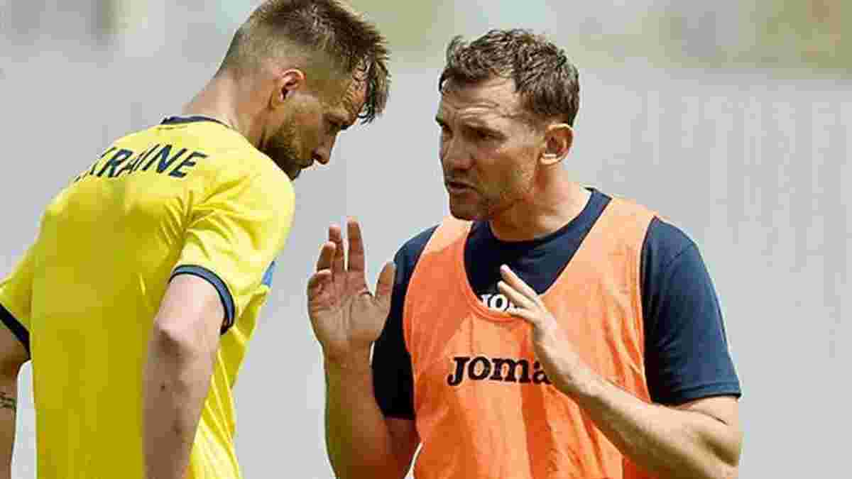 Ярмоленко выразил претензии Марлосу в раздевалке сборной Украины, – Франков