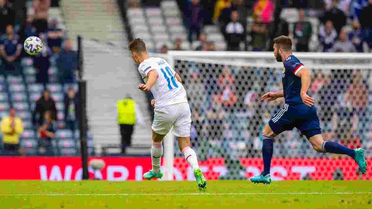Шик признался, что заранее готовил свой чудо-гол в ворота шотландцев