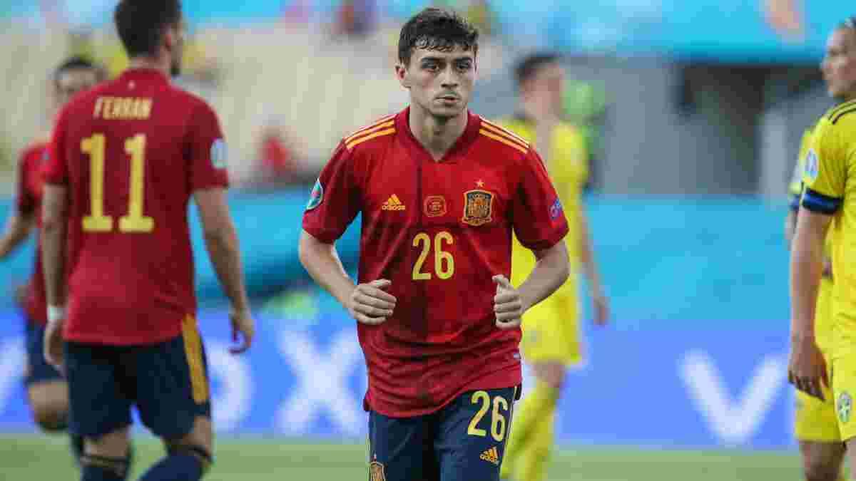 Педри стал самым молодым игроком сборной Испании на крупных турнирах – предыдущий рекорд напоминал о позоре Украины