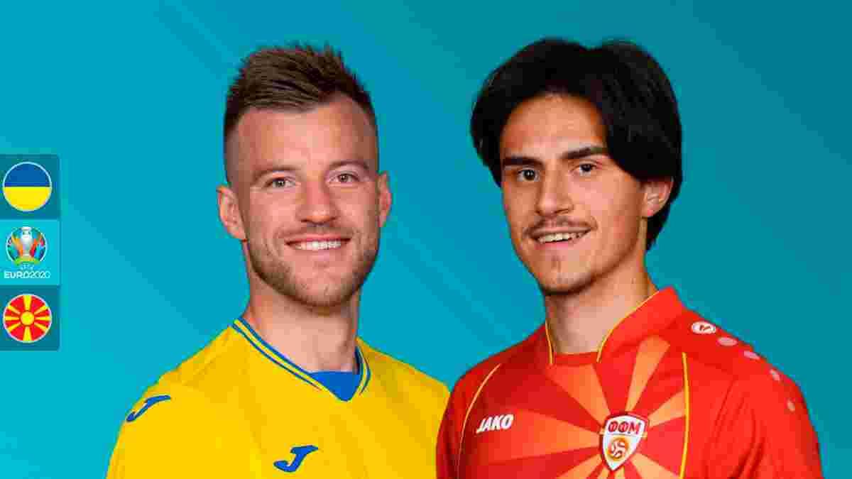 Украина – Северная Македония: анонс матча Евро-2020