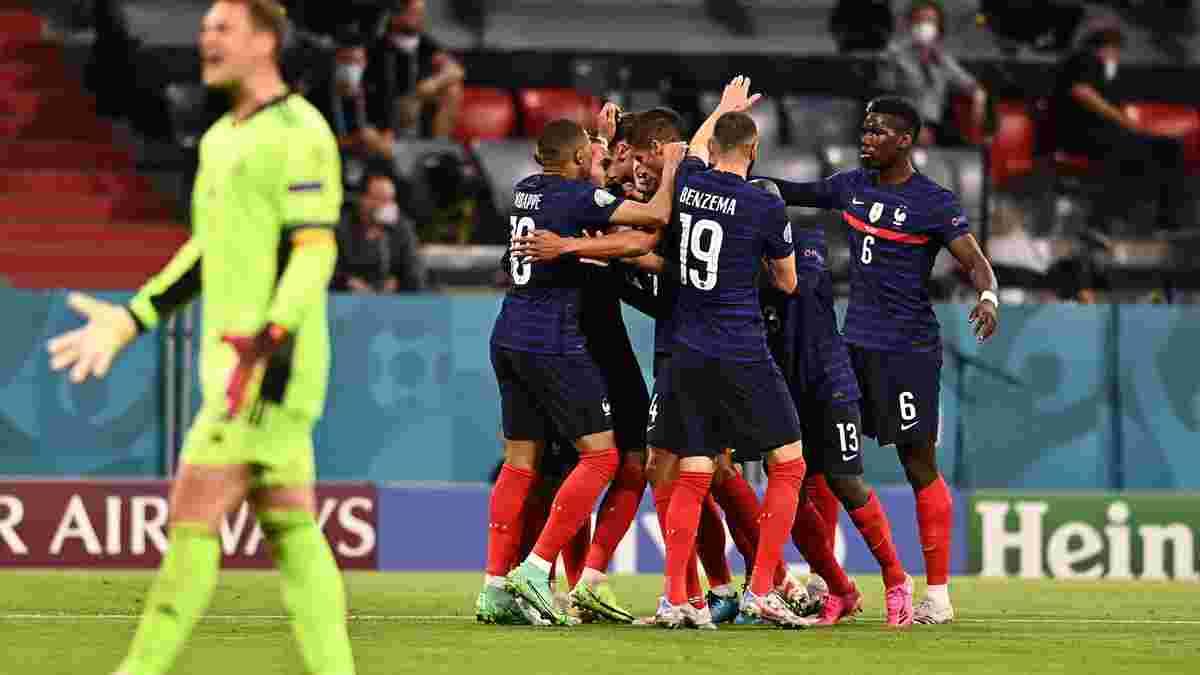 Франция – Германия – 1:0 – видео гола и обзор матча