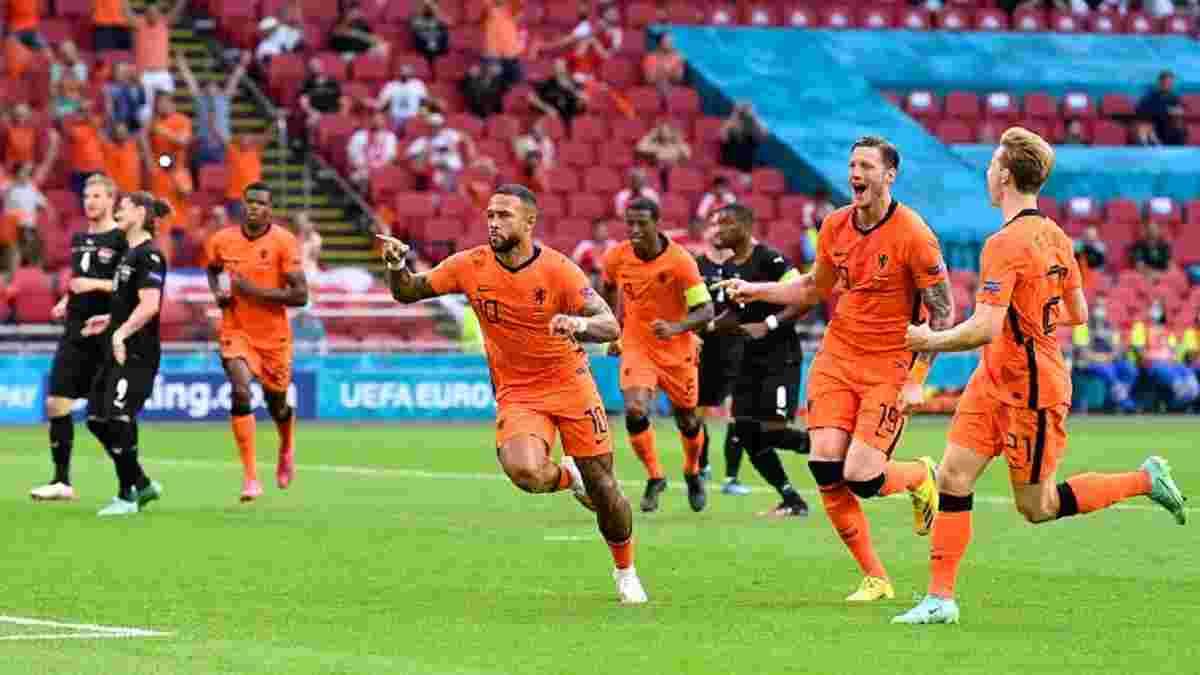 Нідерланди – Австрія – 2:0 – відео голів і огляд матчу