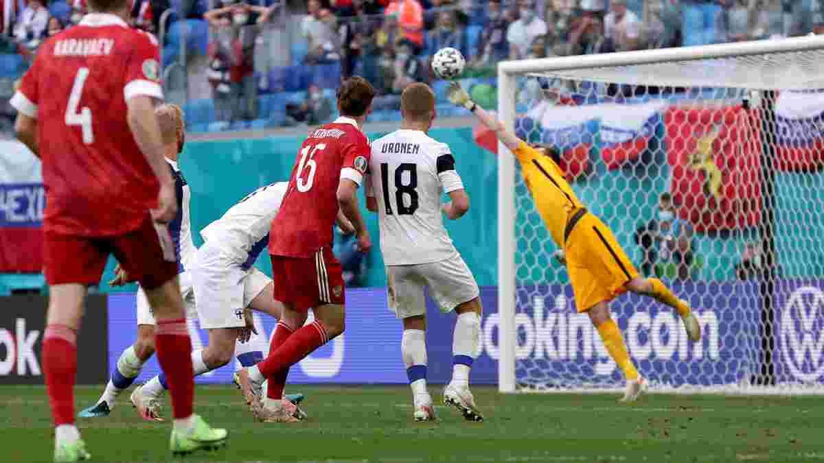 Финляндия уступила России на Евро-2020 – конкурент Малиновского в одиночку вытащил победу