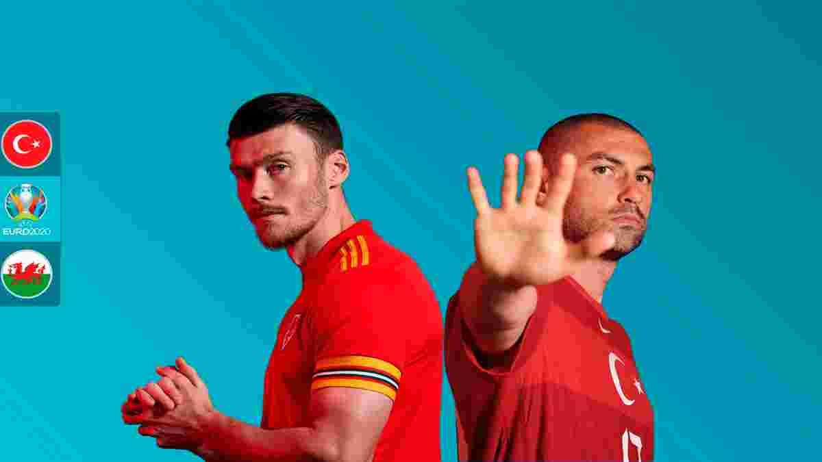 Турция – Уэльс: анонс матча Евро-2020