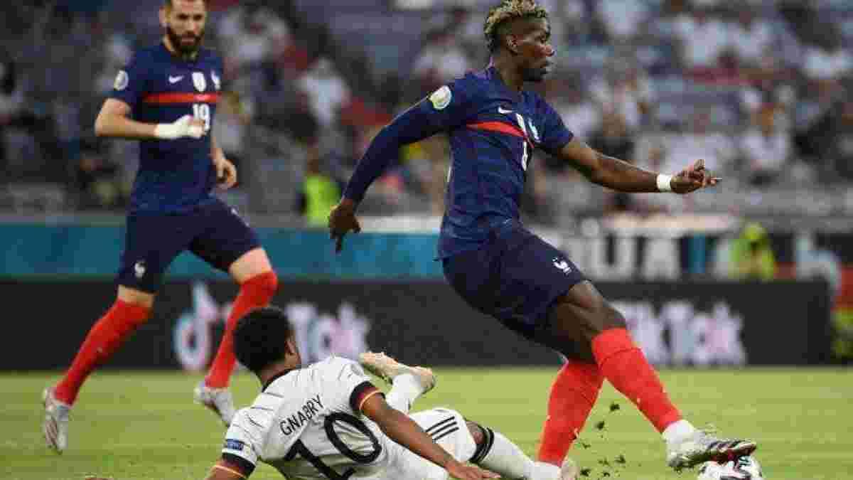 Рой Кин подчеркнул разницу между игрой Погба за сборную Франции и Манчестер Юнайтед