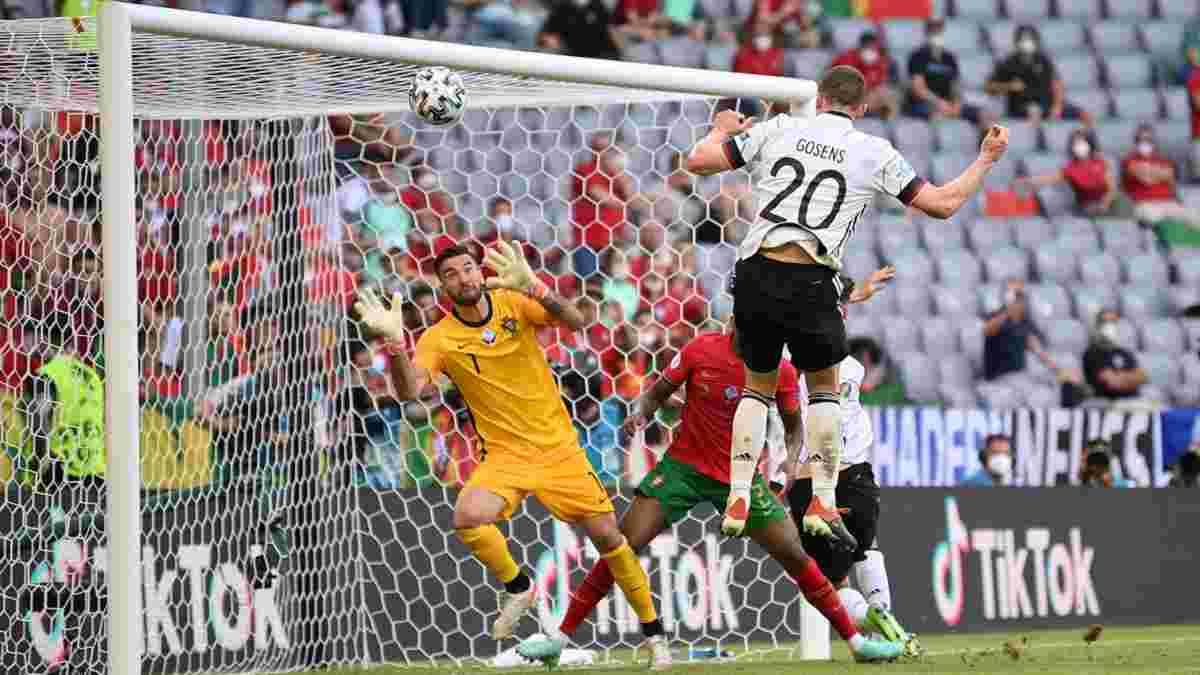 Португалия – Германия: фантастический Госенс, очередной шаг Роналду к рекорду, Бундестим рвется в плей-офф Евро-2020