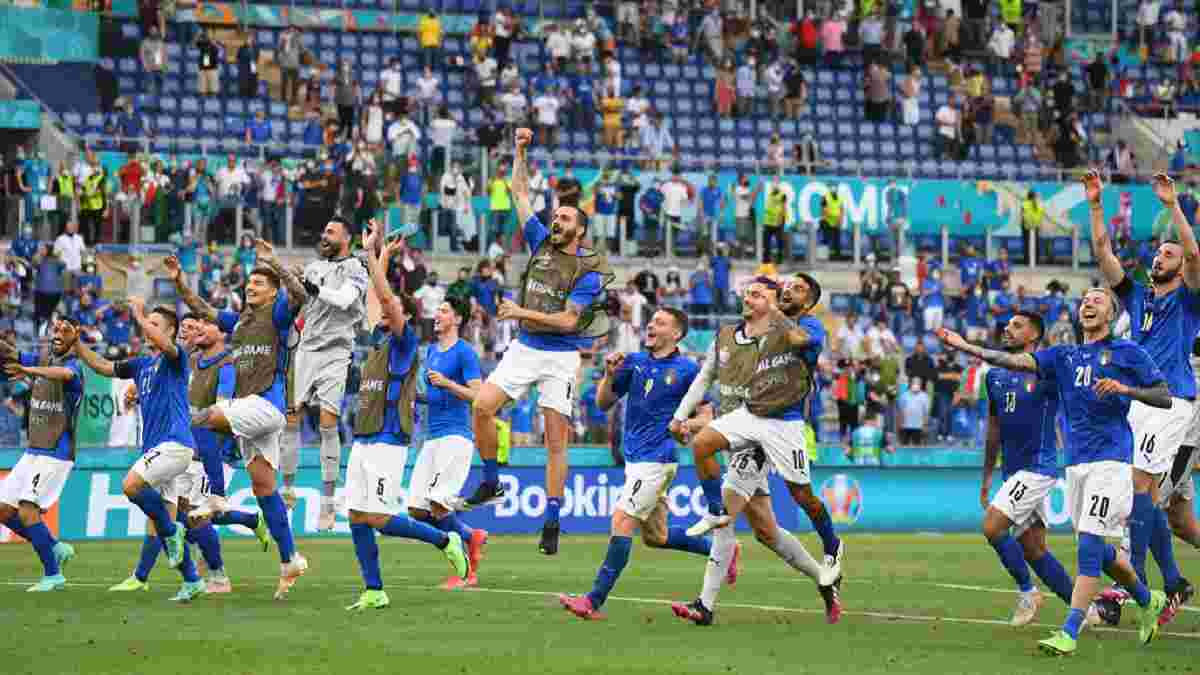 Італія – Уельс: два учасники плей-офф Євро-2020 і вражаюча серія команди Манчіні, яка може зіграти з Україною вже в 1/8