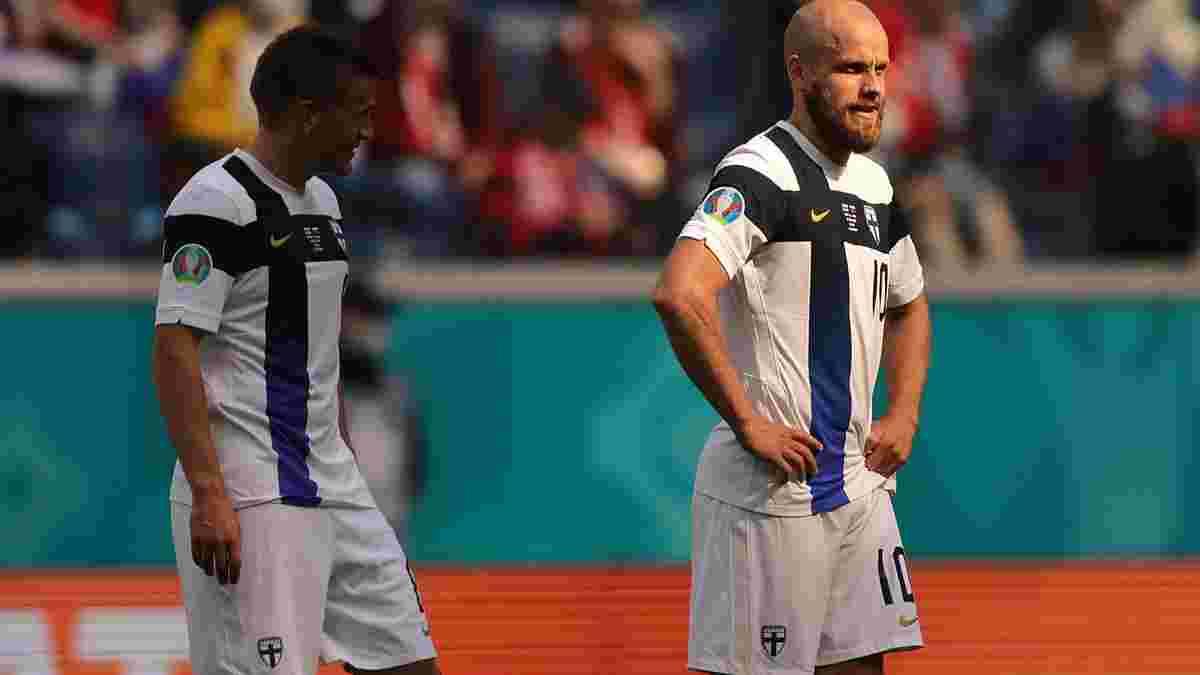 Игроки сборной Финляндии организовали чувственную акцию в поддержку Эриксена