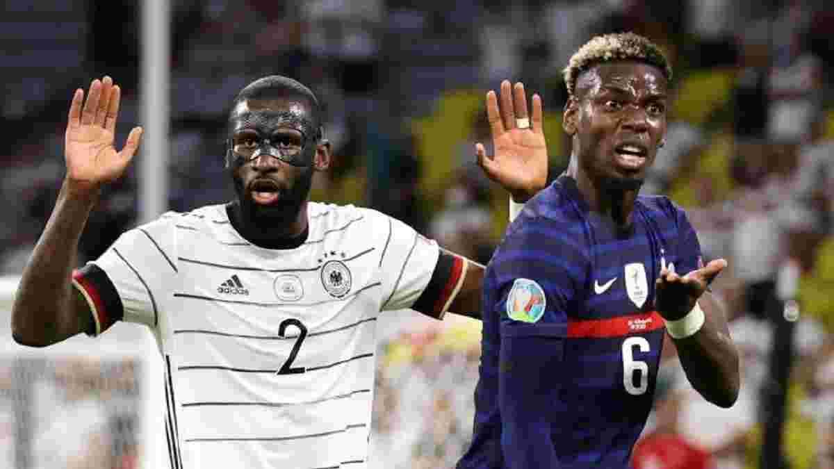 Рюдигер узнал вердикт УЕФА за попытку укусить Погба