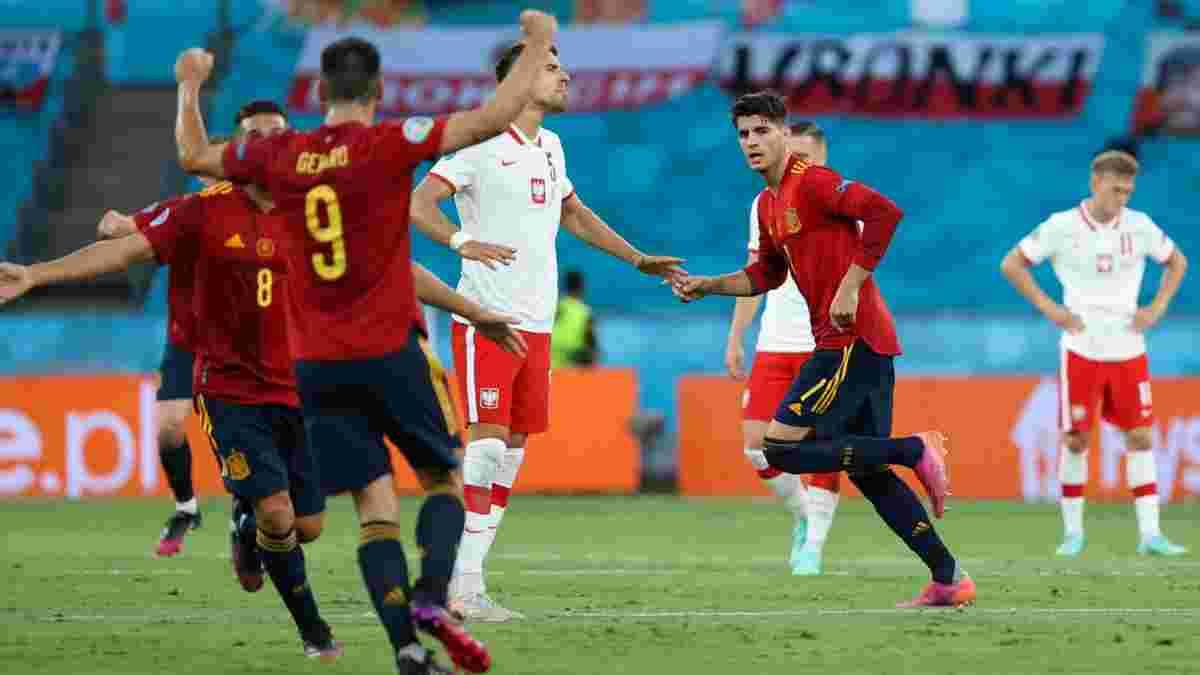 Испания – Польша – 1:1 – видео голов и обзор матча
