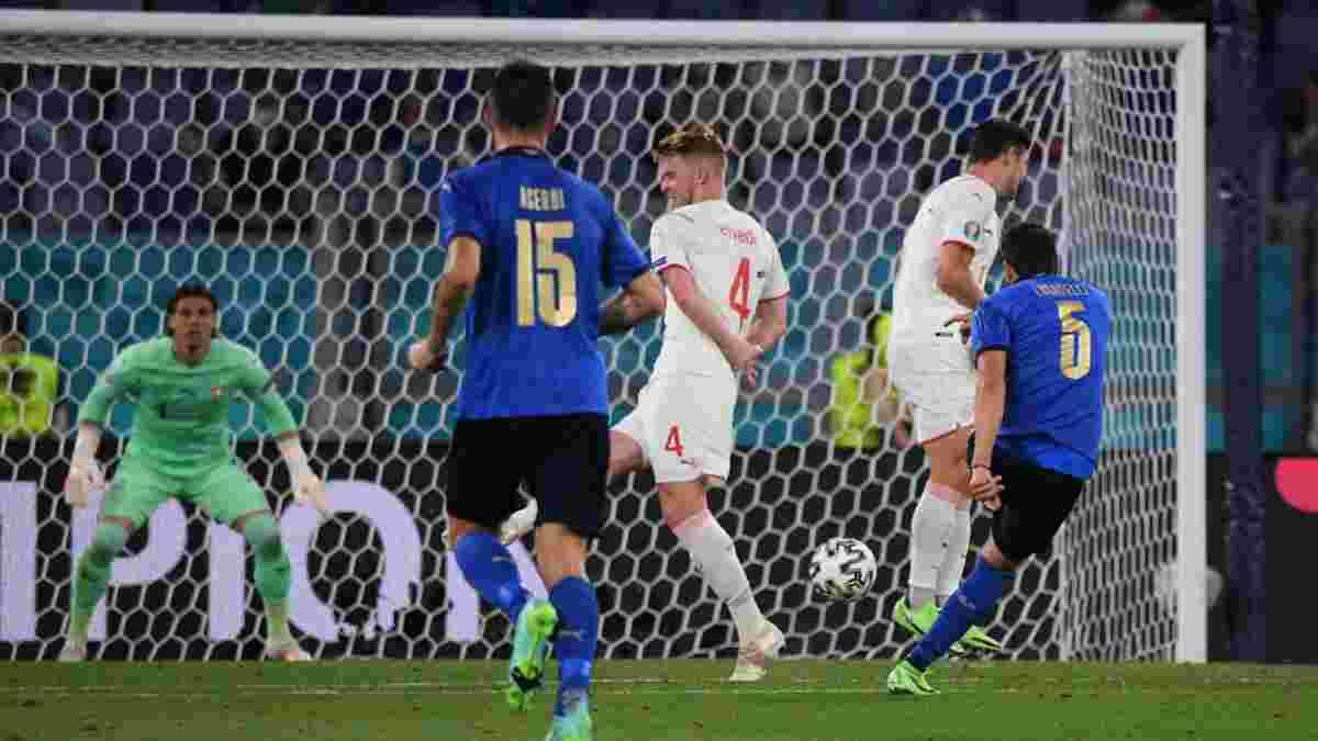 Италия – Швейцария – 3:0 – видео голов и обзор матча