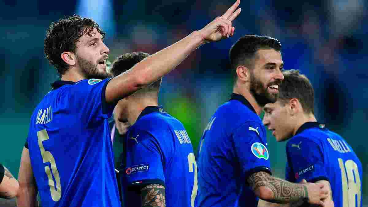 Італія розгромила Швейцарію й першою вийшла в 1/8 фіналу Євро-2020