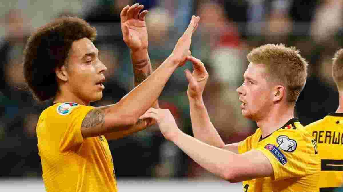 Збірна Бельгії отримає подвійне підсилення перед матчем проти Данії