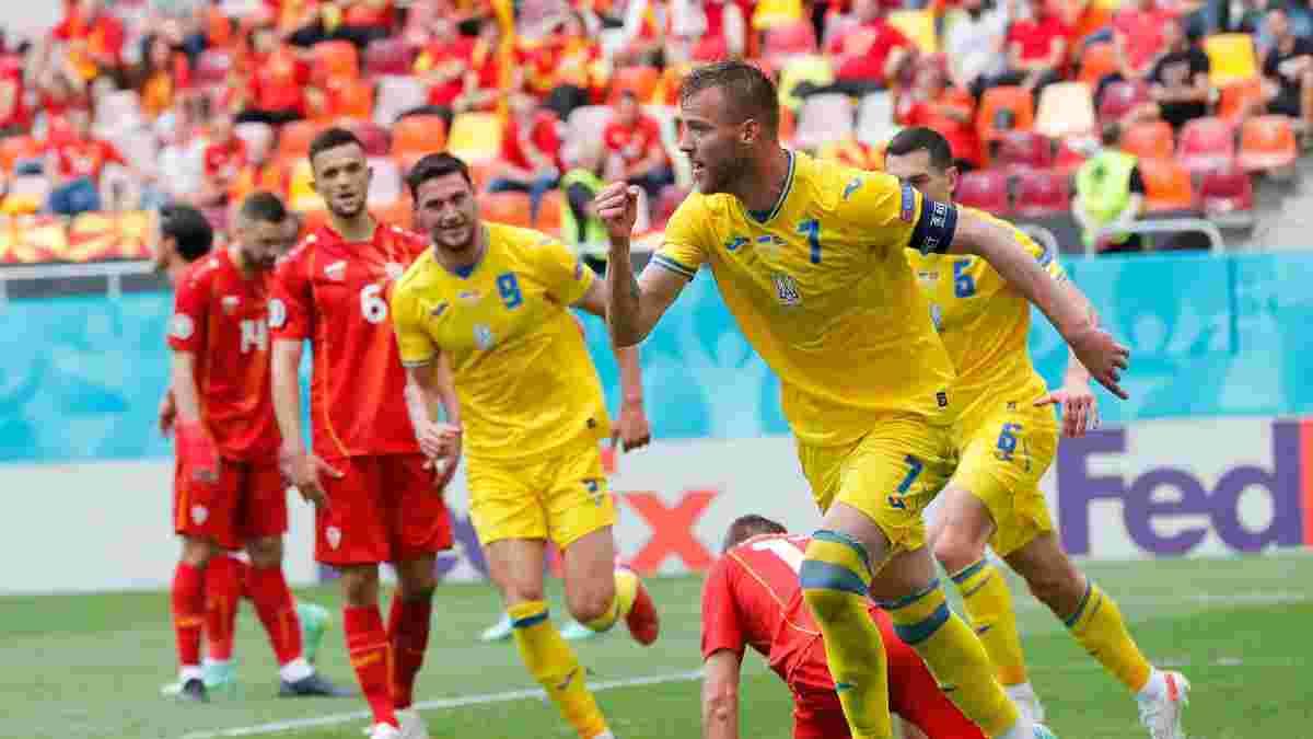 Ярмоленко объяснил нервозность Украины в матче с Северной Македонией и отметил ассист Караваева