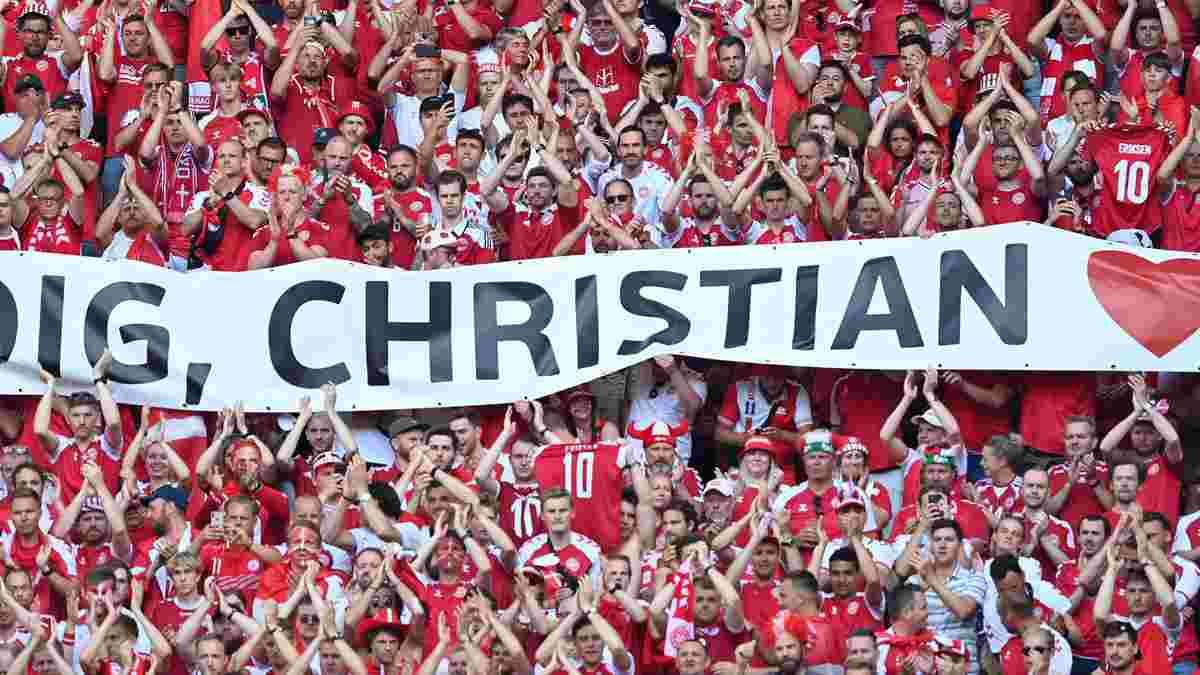 Данія – Бельгія: футболісти посеред матчу підтримали Еріксена – зворушливе відео