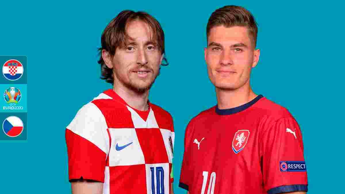 Хорватия – Чехия: анонс матча Евро-2020