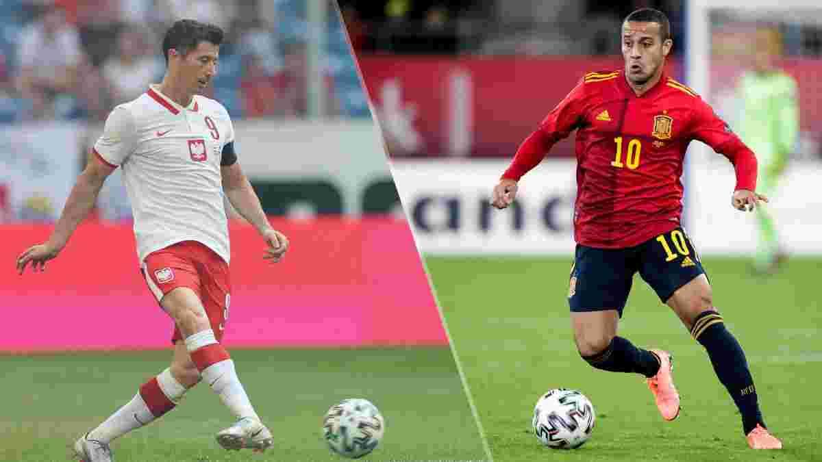 Іспанія – Польща: онлайн-трансляція матчу Євро-2020