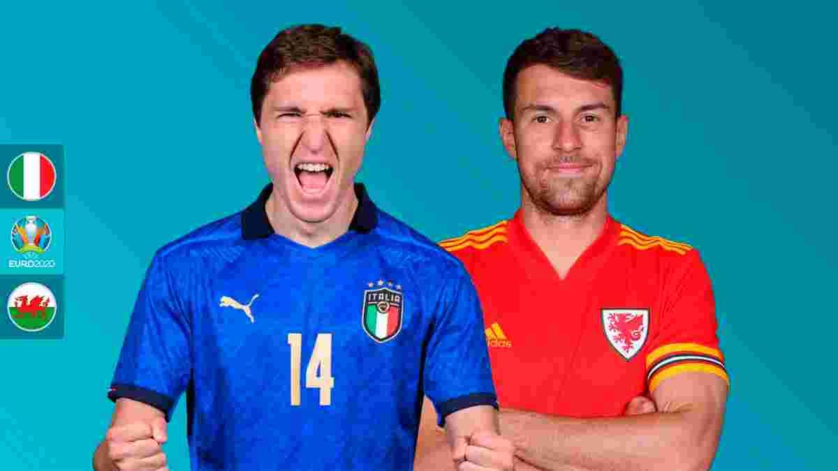 Італія – Уельс: анонс матчу Євро-2020
