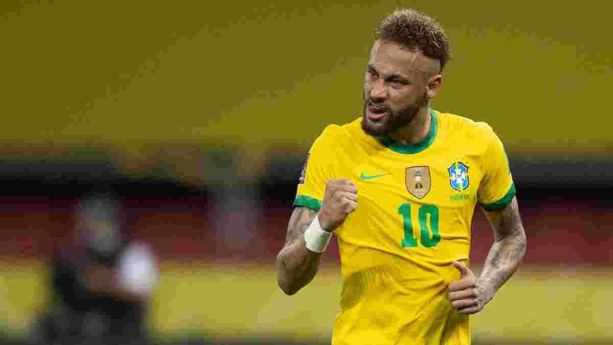 Неймар устроил показательное унижение 4 соперникам – последний не выдержал и ударил бразильца