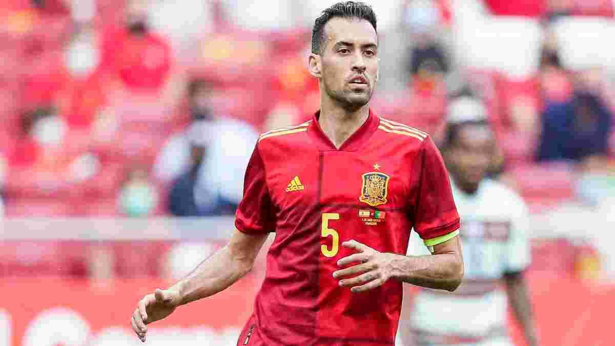 Бускетс зможе допомогти Іспанії у матчі з поляками