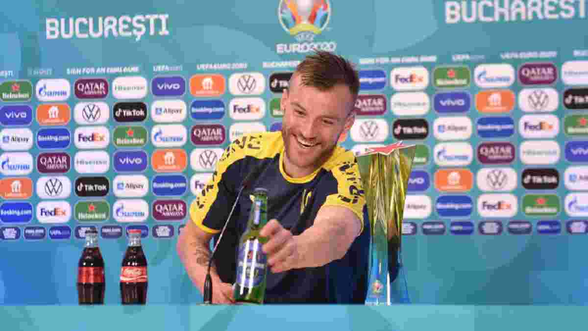 Ярмоленко: Можна трохи розслабитись, посвяткувати після перемоги, але це не означає, що будемопиво пити