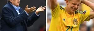 Фоменко різко відреагував на інформацію про виклик футболістів у збірну України за гроші – в скандалі фігурує Зінченко