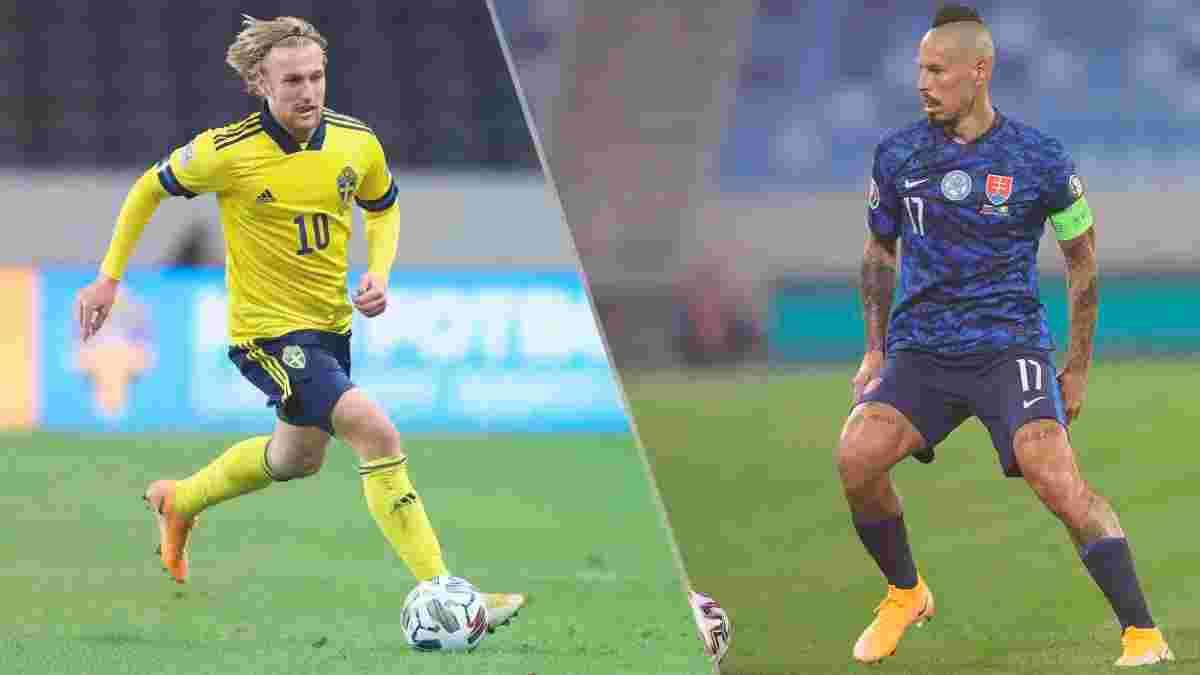 Швеция – Словакия: онлайн-трансляция матча Евро-2020
