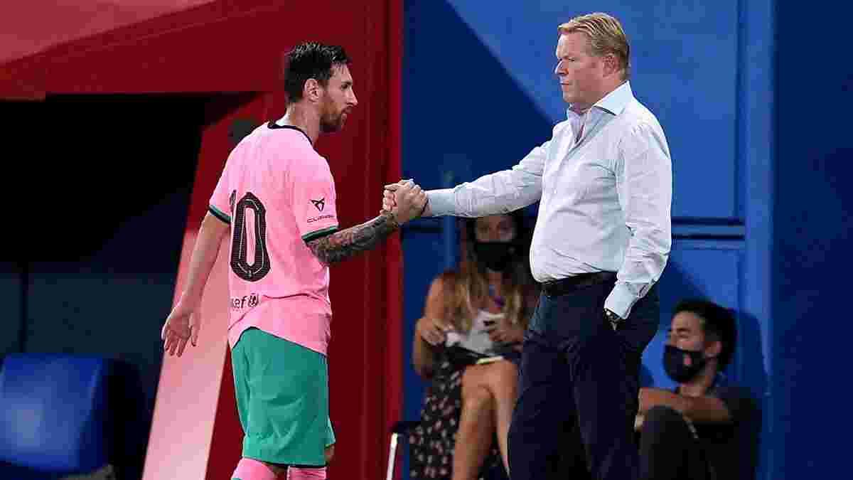 Куман оцінив шанси Барселони зберегти Мессі