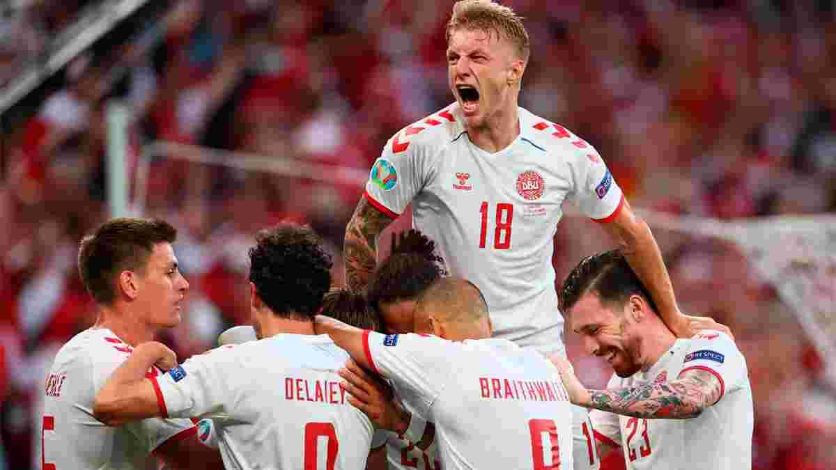 Росія вилетіла з Євро-2020, розгромно програвши у Копенгагені – Данія прорвалася в 1/8 фіналу, де зіграє з Уельсом