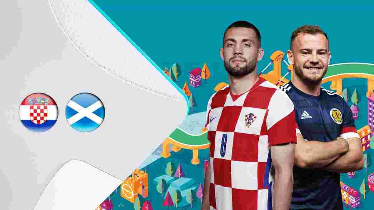 Хорватия – Шотландия: анонс матча Евро-2020
