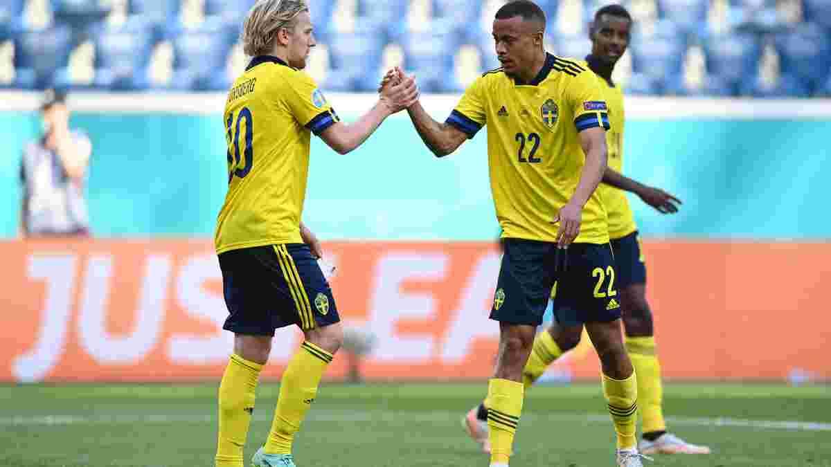 Швеція – Словаччина – 1:0 – відео гола та огляд матчу