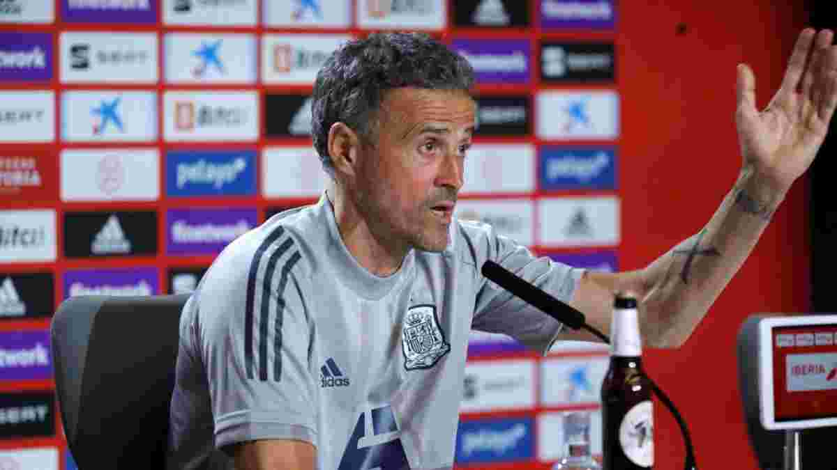 """Испания – Польша: Луис Энрике назвал единственного игрока """"Фурии Рохи"""", который точно сыграет в матче Евро-2020"""