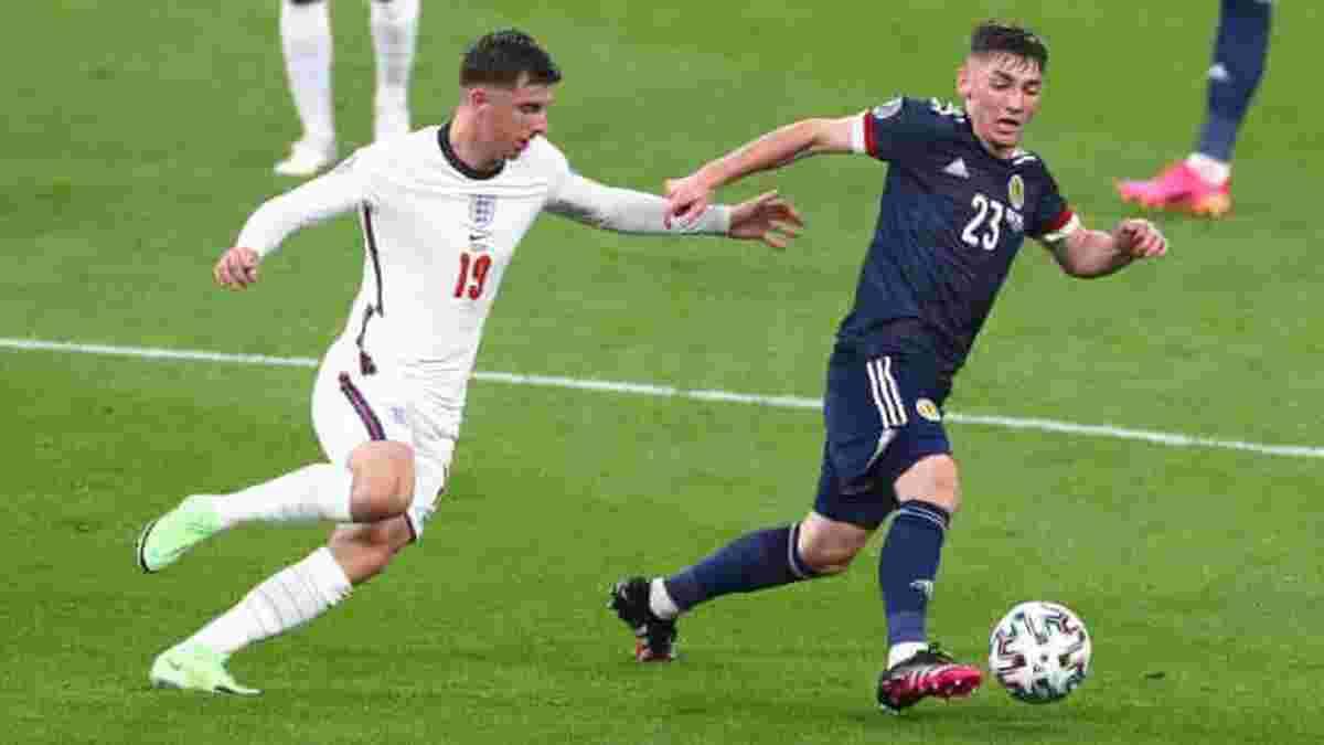 Англія – Шотландія: резервіст Челсі став найкращим гравцем матчу Євро-2020
